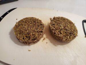 keto sliced microwave bread